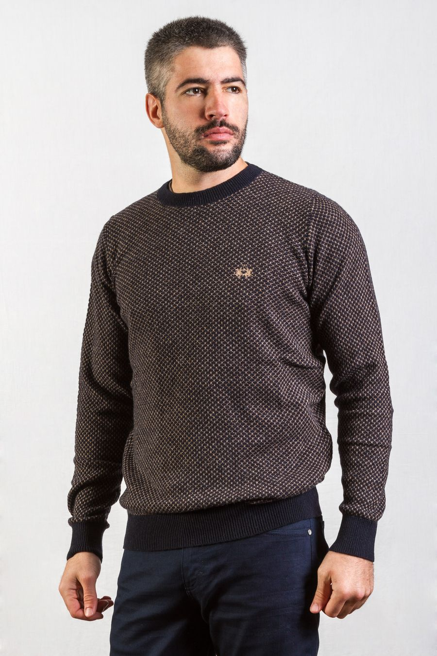 SWEATER--MINI-JACKARD--GIACOMO